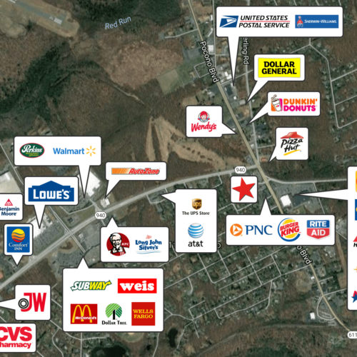 Retail Pad Sites at 5 Points