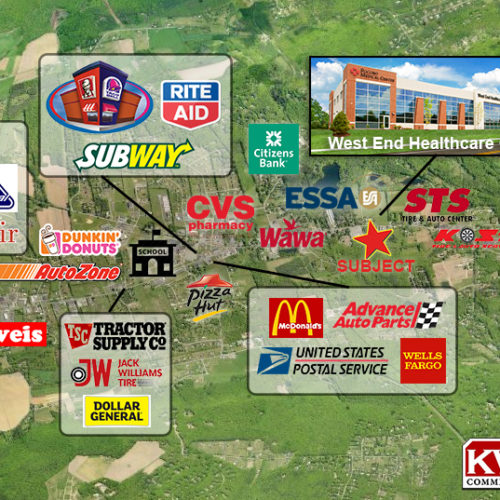 16+ Acres of Commercial Land