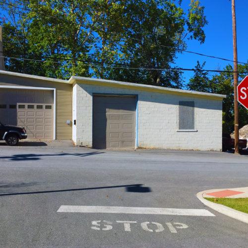 Warehouse with Drive-In Door