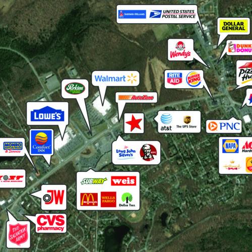 Retail Pad Sites